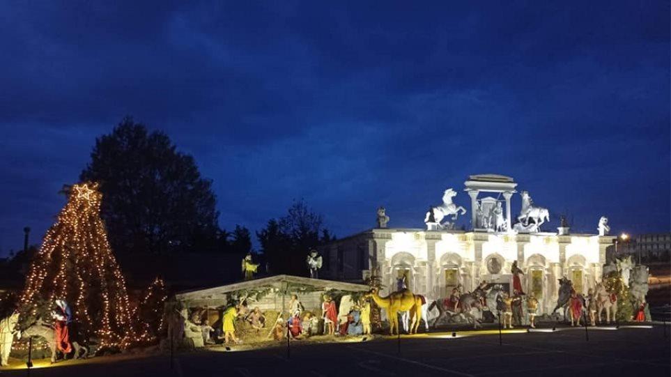 Στη Θεσσαλονίκη η μεγαλύτερη φάτνη της Ευρώπης – Δείτε φωτογραφίες και βίντεο