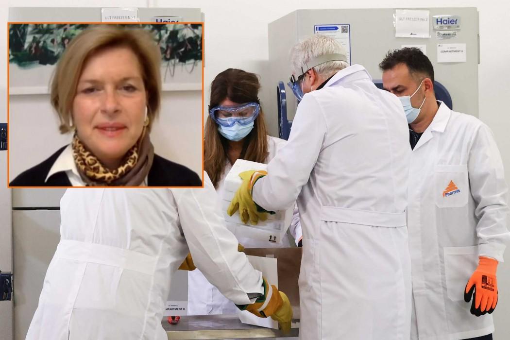 Μ. Γκάγκα: «Δεν έχω καμία παρενέργεια μέχρι τώρα» – Την Τρίτη ο εμβολιασμός για τον κορονοϊό και εκτός Αθηνών
