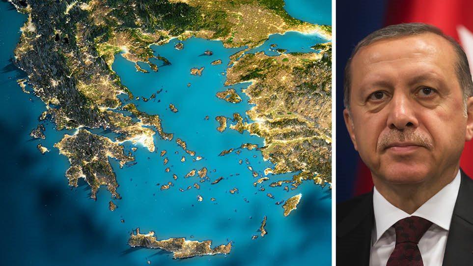 Kόλαφος για τις δηλώσεις Ερντογάν: Διπλάσια η ελληνική ακτογραμμή από της Τουρκίας
