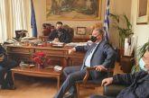 Αγρίνιο: δήμαρχος, ΥΠΕάρχης και Αστυνομικός Διευθυντής συζήτησαν για τη διαχείριση της πανδημίας