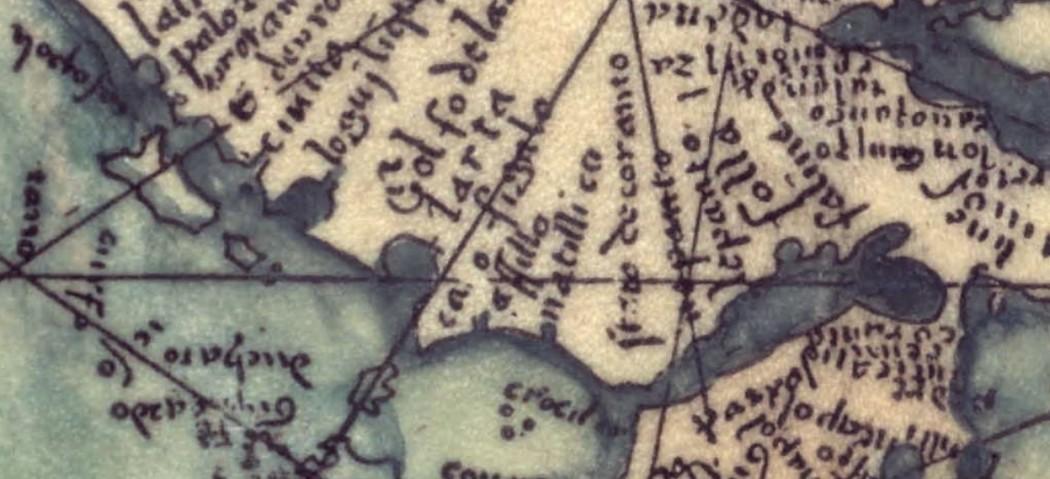 Καταλανικός χάρτης της Αιτωλοακαρνανίας του 1375