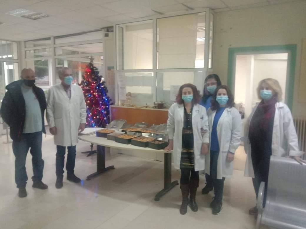 Το Κέντρο Υγείας Αγρινίου ευχαριστεί τον Ανδρέα Αραπογιάννη για την προσφορά του
