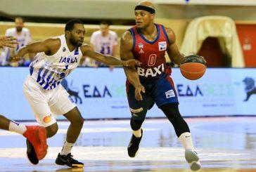 Basket League: Για το «φιλί ζωής» κόντρα στη Λάρισα το Μεσολόγγι