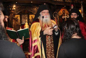 Δυο νέες μοναχικές κουρές στην Ιερά Μονή Τρικόρφου Φωκίδος