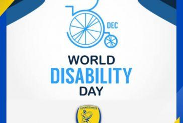 Παναιτωλικός: «Σεβασμός, αγάπη και αλληλεγγύη στα άτομα με αναπηρία και τις οικογένειές τους»