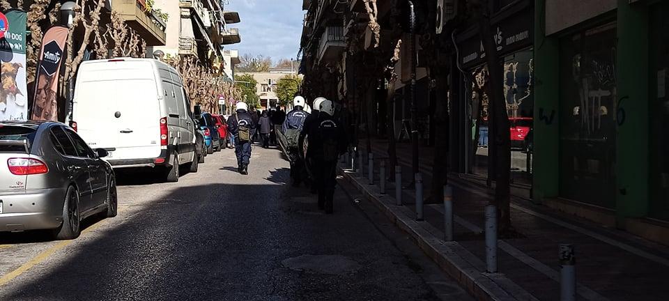 Επέτειος δολοφονίας Γρηγορόπουλου: έγινε πορεία στο κέντρο του Αγρινίου