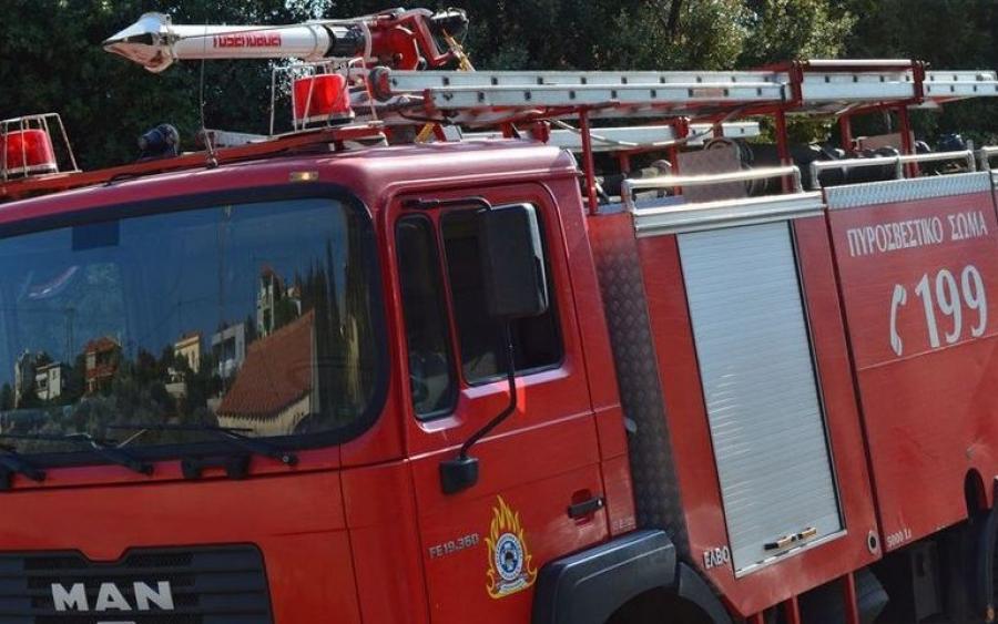 Ανάφλεξη φιάλης υγραερίου σε σπίτι στα Ρουσέικα- Έγκαιρη επέμβαση της Πυροσβεστικής