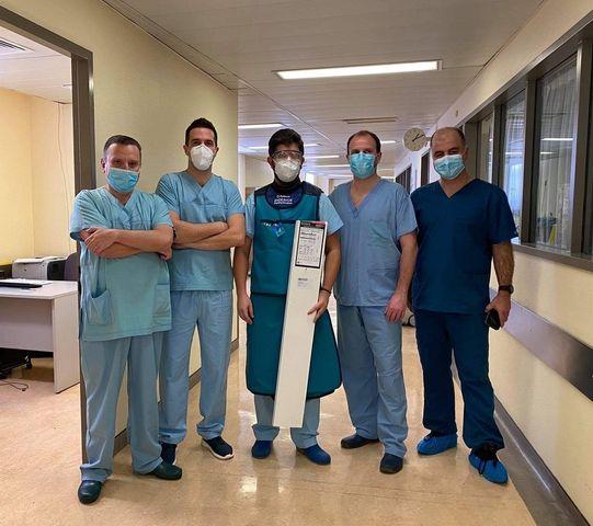 Για πρώτη φορά στην Ελλάδα πρωτοποριακή επέμβαση για την στεφανιαία νόσο από Αγρινιώτη καρδιολόγο