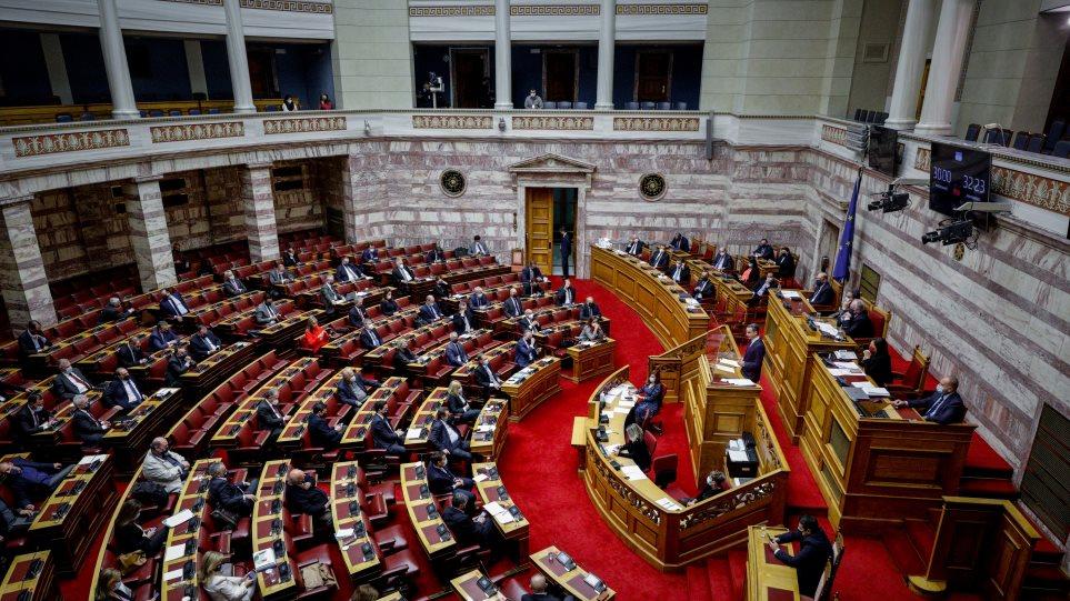 Βουλή: Υπερψηφίστηκε από τη Βουλή με 158 «ναι» ο προϋπολογισμός για το 2021