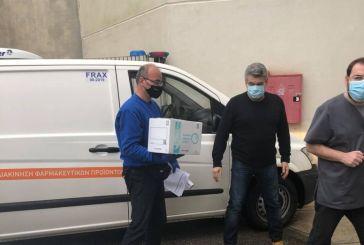 H «Ελευθερία» ξεκινά στο Αγρίνιο, ήρθαν στο Νοσοκομείο τα εμβόλια για τους υγειονομικούς (βίντεο-φωτό)