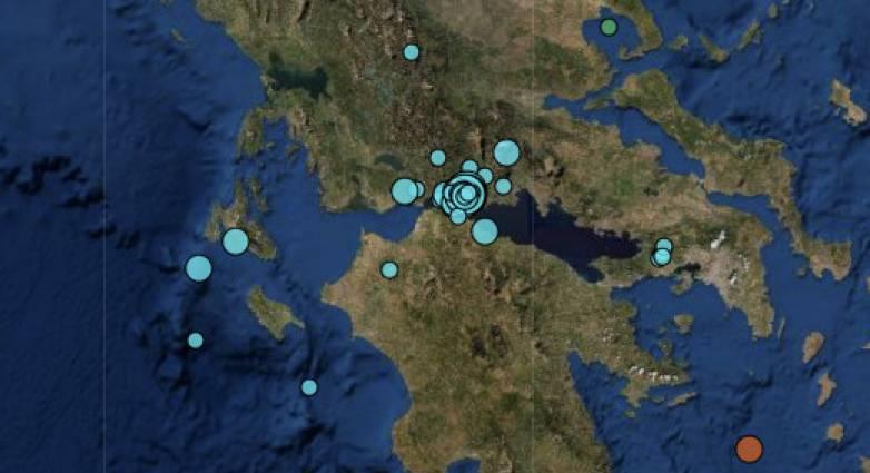 Κορινθιακός: Δεν σταματά να… «χορεύει» την περιοχή ο Εγκέλαδος – Πάνω από 120 σεισμοί σε λιγότερο από 20 ώρες