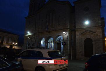 Μεσολόγγι: Θεοφάνεια με ανοιχτές εκκλησίες και διακριτική παρουσία της Αστυνομίας