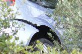 """Αυτοκίνητο έπεσε σε γκρεμό 25 μέτρων στην Αμφιλοχία – είχε """"Άγιο"""" ο οδηγός"""