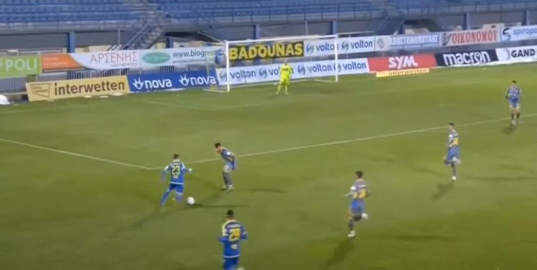 Τα highlights του Αστέρας Τρίπολης – Παναιτωλικός 2-0