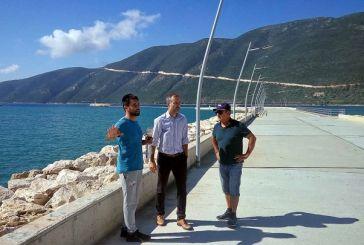 Π.Ε. Λευκάδας: Υπογράφηκε η Σύμβαση για τον προβλήτα στο Λιμάνι Βασιλικής προϋπολογισμού 460.000 ευρώ