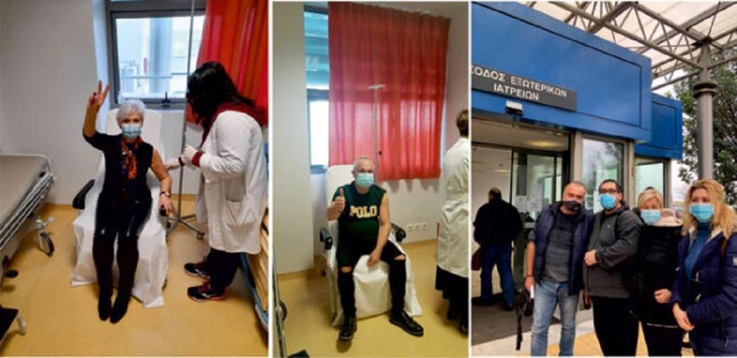 Εμβολιάστηκε η πλειοψηφία νοσηλευτικού και ιατρικού προσωπικού του Κέντρου Υγείας Αμφιλοχίας
