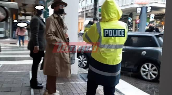 Επεισόδιο στο κέντρο της Πάτρας με τον Λάκη Γαβαλά – Του πήρε τις πινακίδες η Αστυνομία