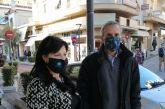 Σε εμπορικά καταστήματα του Αγρινίου την πρώτη μέρα επαναλειτουργίας τους η Αντιπεριφερειάρχης Αιτωλοακαρνανίας