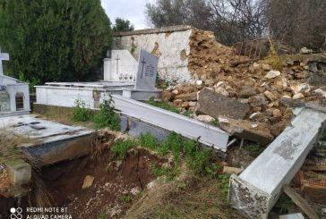 Oργή στην Κατούνα για την κατάσταση στο νεκροταφείο