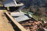 Κατολίσθηση προκαλεί ζημιές και μεγάλη ανησυχία στο Άνω Κεράσοβο (φωτο)