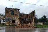 Κακοκαιρία: Kαι η Κυψέλη σε επιφυλακή-κατέρρευσε παλαιό σπίτι