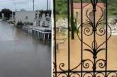 Πλημμύρισαν τα κοιμητήρια σε Αστακό και Νεοχώρι