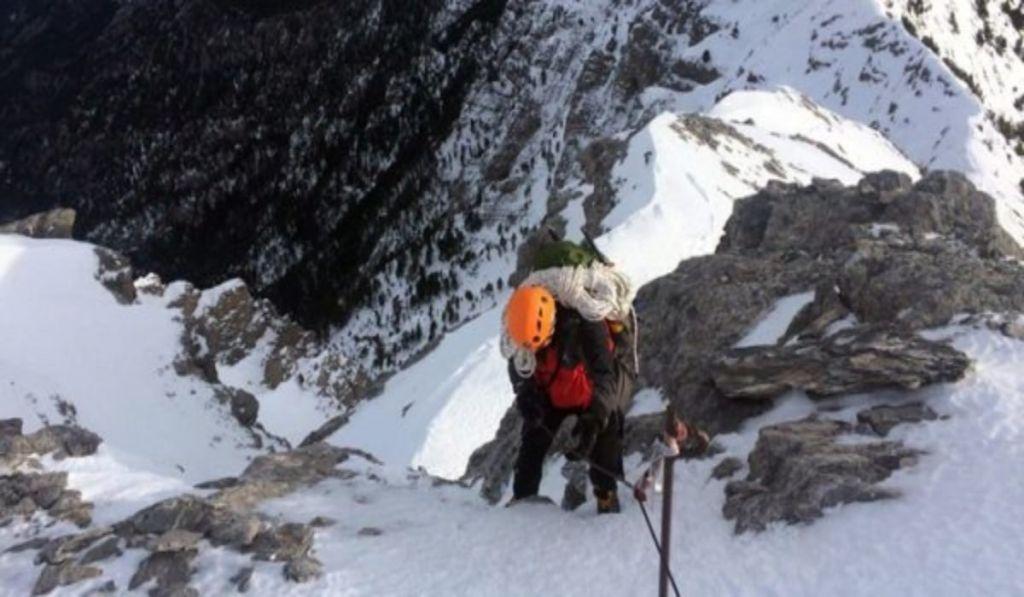 Τραγωδία στον Ολυμπο: Βρέθηκαν νεκροί οι ορειβάτες που καταπλακώθηκαν από χιονοστιβάδα
