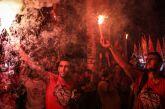 Αγρίνιο: Οπαδοί του Ολυμπιακού υποδέχτηκαν ξανά την αποστολή