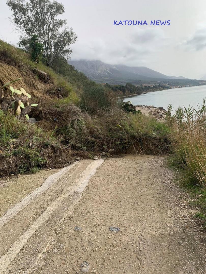 Ανησυχία στην Πάλαιρο από τις κατολισθήσεις στο δρόμο για Πογωνιά – Επειγόντως το έργο ζητά ο δήμαρχος
