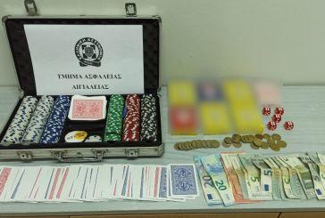 Αίγιο: Πιάστηκαν επ' αυτοφόρω να χαρτοπαίζουν σε κατάστημα- 13 συλλήψεις