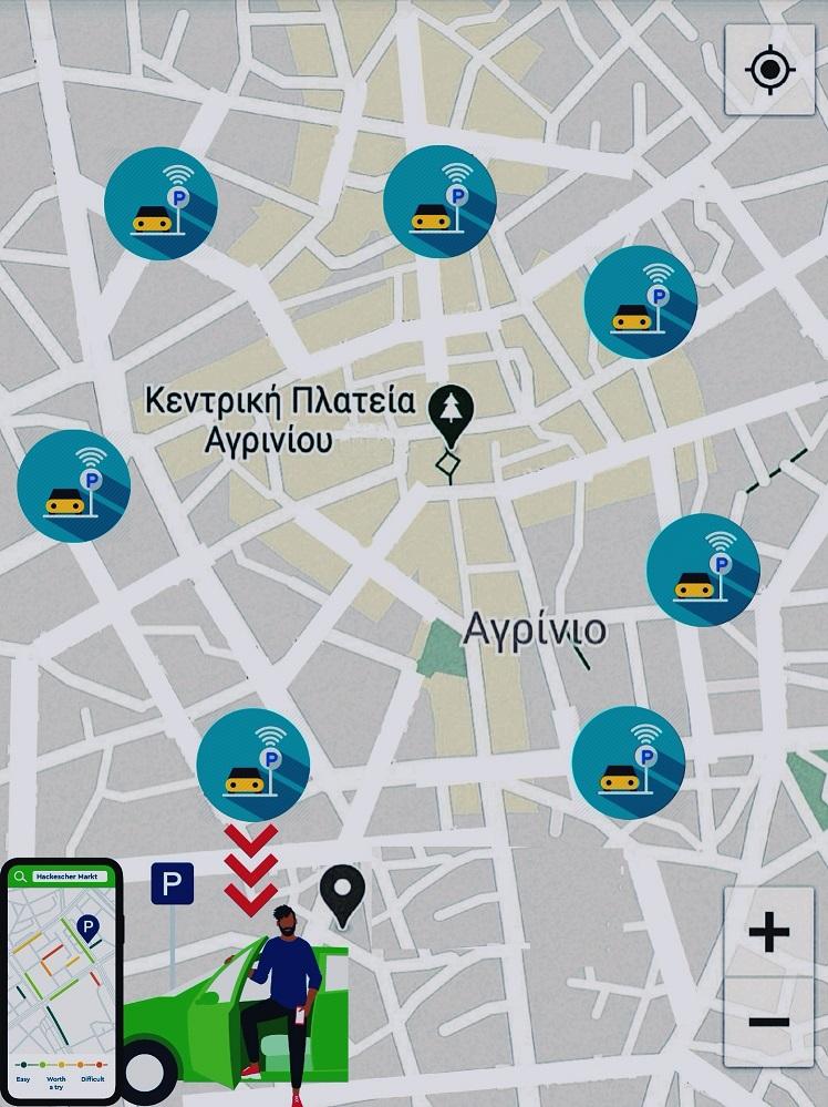 Έρχεται «έξυπνη» εφαρμογή για την ελέγχομενη στάθμευση στο Αγρίνιο
