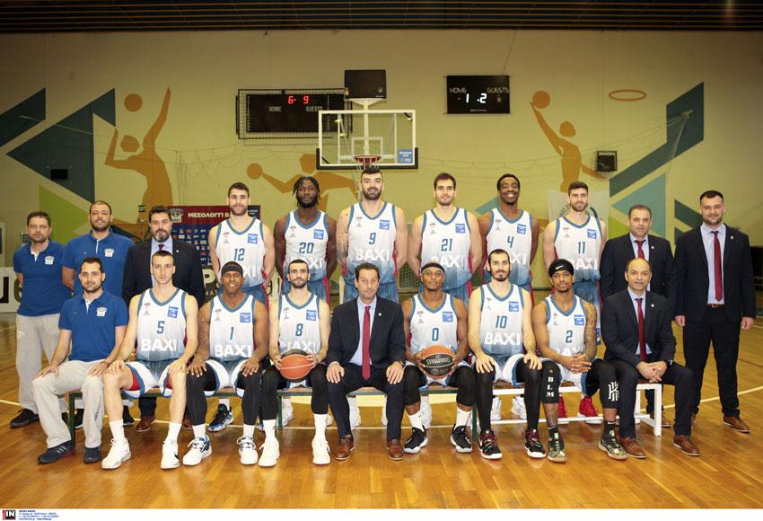 Μεσολόγγι ΒΑΧΙ: Η πορεία του πρώτου γύρου στην Basket League