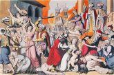 Η πολιορκία και αιματηρή σφαγή του χαρεμιού στο Μεσολόγγι το 1684