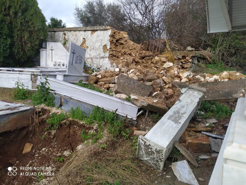 Κατούνα: «καρφώνει» τον δήμαρχο για το κοιμητήριο η πρώην αντιδήμαρχος του