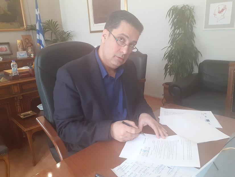 Υπεγράφη η σύμβαση για Περιβαλλοντικό Παρατηρητήριο στο Δήμο Αγρίνιο