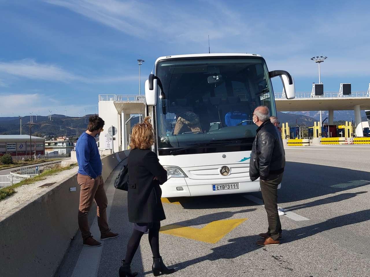 Έλεγχος και πρόστιμο σε επιβάτες του ΚΤΕΛ Λευκάδας σε δρομολόγιο για Αθήνα