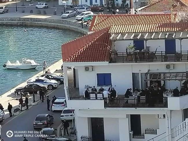 Αντιδράσεις για το γεύμα Μητσοτάκη στην Ικαρία στο σπίτι του βουλευτή Στεφανάδη
