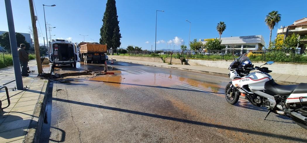 Οδηγοί προσοχή: Εργασίες της ΔΕΥΑ Αγρινίου επί της οδού Χαριλάου Τρικούπη