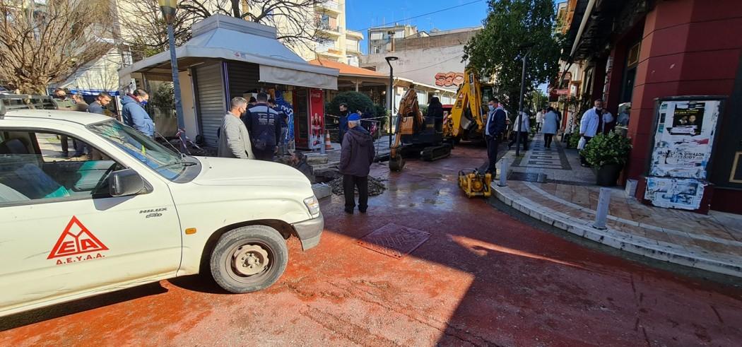 Επανέρχεται η υδροδότηση στο Αγρίνιο, ολοκληρώθηκαν οι εργασίες της ΔΕΥΑ