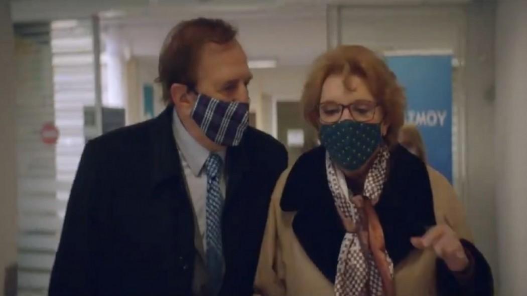 Εμβόλιο: Νέο ραντεβού ζωής για το ζεύγος «Κοκοβίκου» – Το βίντεο με τον «Αντωνάκη» και την «Ελένη»