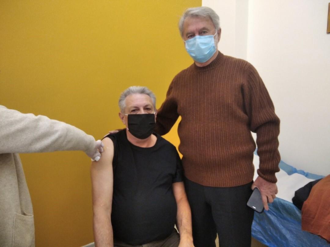 Η εμπειρία του εμβολιασμού για έναν Αγρινιώτη εκπαιδευτικό