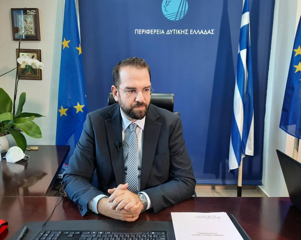 Φαρμάκης: «Ανοίξαμε τον δρόμο του μέλλοντος για τη Δυτική Ελλάδα» – Ο απολογισμός του Περιφερειάρχη για το 2020