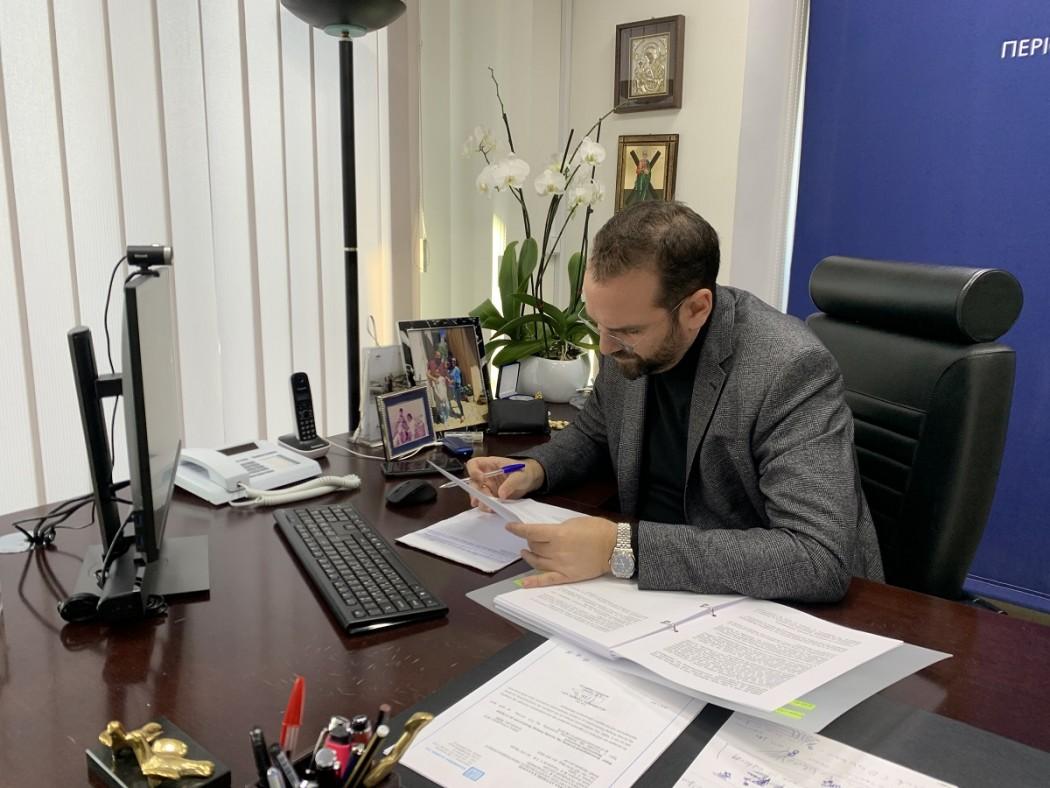 """Φαρμάκης: «Διαθέσαμε 15 εκ. ευρώ για το τελευταίο """"Εξοικονομώ"""", διεκδικούμε ισχυρή βελτίωση των όρων του»"""