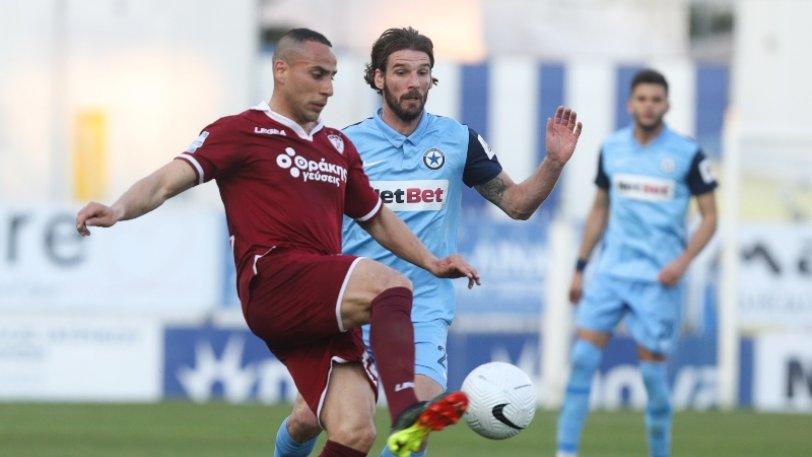 Super League: Πήρε βαθμό στο Περιστέρι η Λάρισα