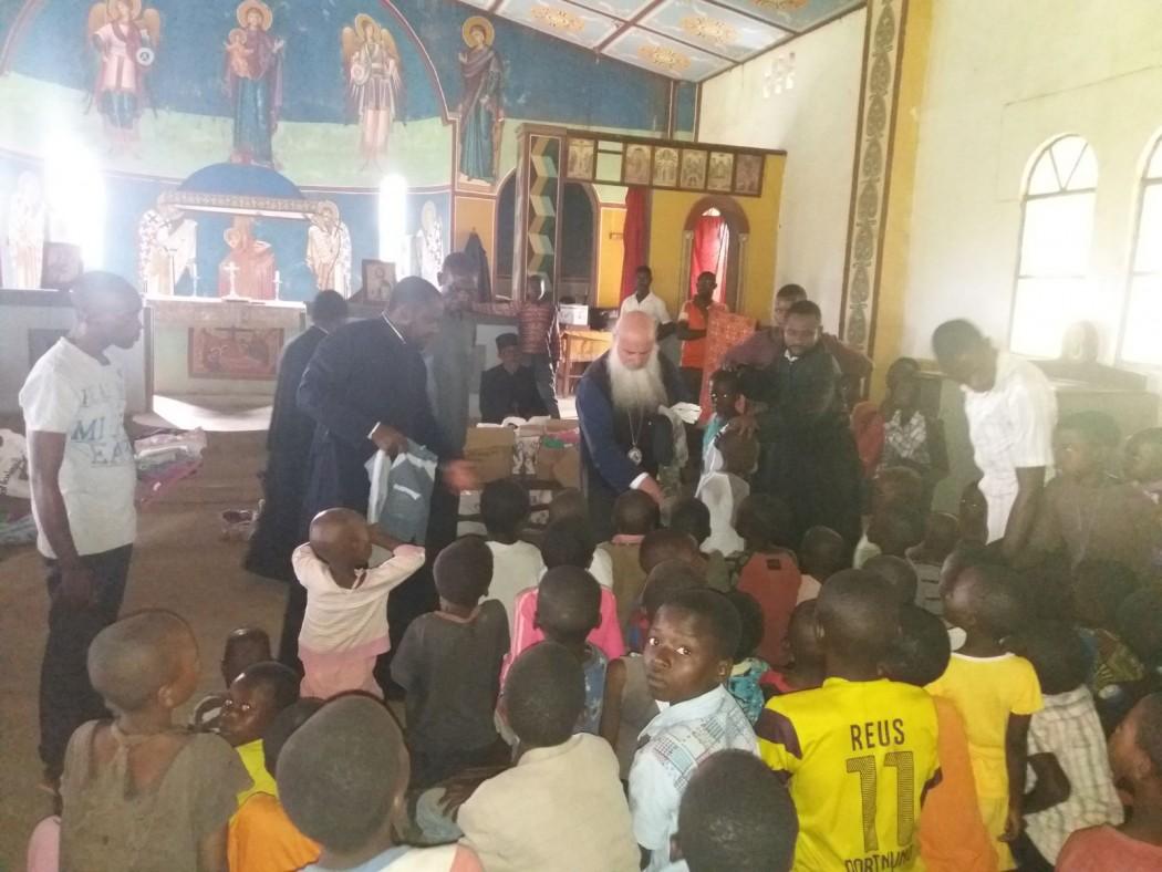 Στήριξη από το Αγρίνιο στους κατοίκους του χωριού Mikalayi του Κονγκό