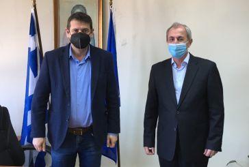 Θέματα διαδημοτικής συνεργασίας στη συνάντηση των δημάρχων Αμφιλοχίας και Θέρμου