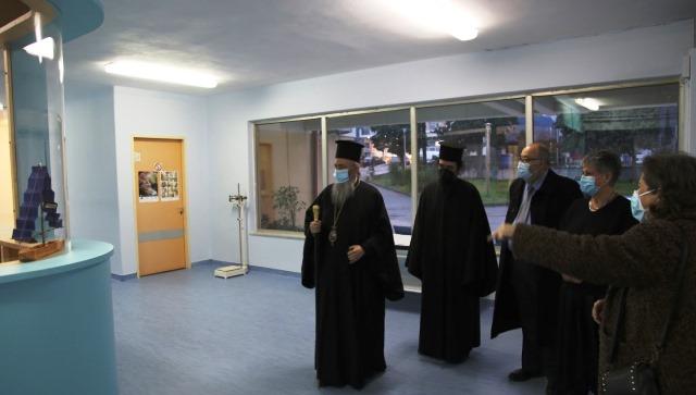 Ναύπακτος: Ο Μητροπολίτης επισκέφθηκε το Κέντρο Υγείας