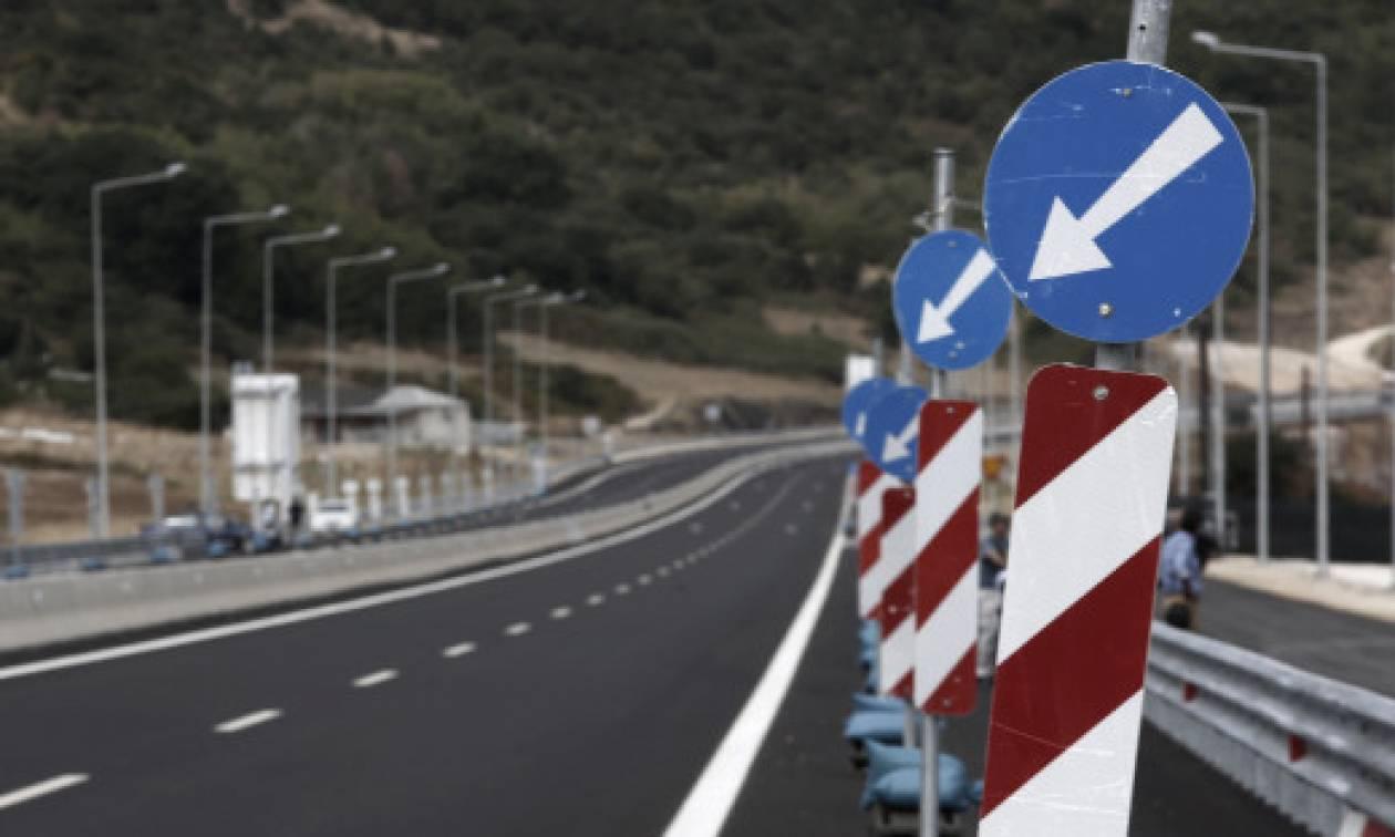 Ιόνιας Οδός: Ρυθμίσεις στο 69ο χλμ της λόγω γεωτεχνικών εργασιών και επιθεώρησης πρανών