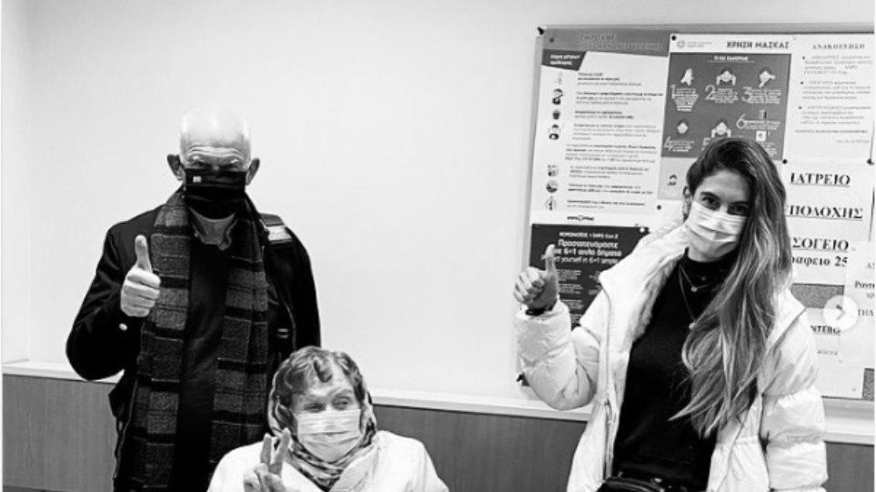 Εμβολιάστηκε η Μαργαρίτα Παπανδρέου – Μαζί της ο πρώην πρωθυπουργός