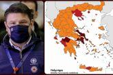 Lockdown: Αυτός είναι ο νέος χάρτης μετά τις ανακοινώσεις Χαρδαλιά – Όλα τα νέα μέτρα